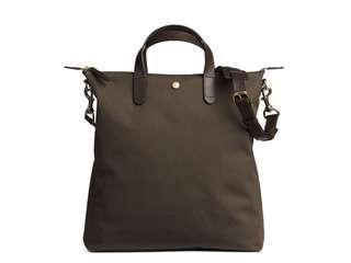 Mismo M/S Shopper Tote Bag Army green