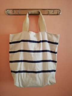 Stripes canvass bag