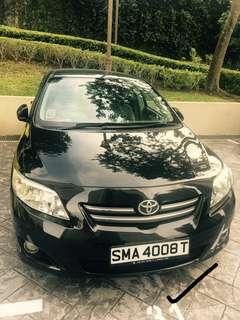 Toyota Altis Elegance 1.6