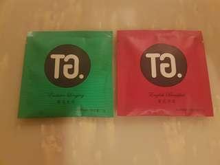 TG tea sachets