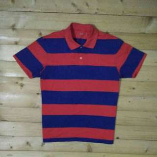 Uniqlo Original Polo Shirt Garis