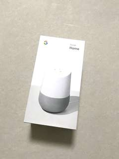 BNIB Google Home (Sealed Condition)