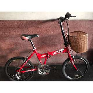 GINORI 折疊腳踏車