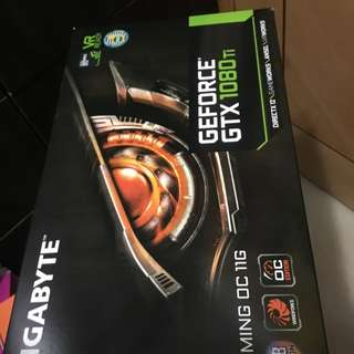 Gtx 1080ti 1080 ti Gigabyte gaming OC 11GB