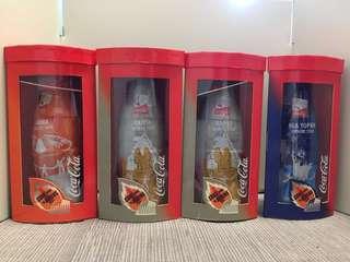 可口可樂~2004雅典奧運包膠瓶(4支)