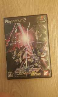 (絕版日版) PS2 機動戰士S Destiny (連合v.s.Z.A.F.T. H Plus)