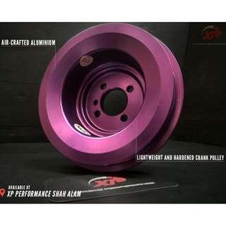 Crank Pulley MINES for PROTON SAGA 12V  T7 Aluminium