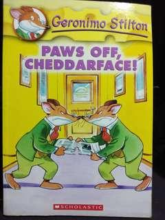 Paws off, Cheddarface! Geronimo Stilton