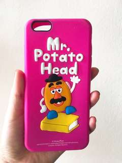 Mr Potato Head iPhone 6plus silicon case (包平郵)
