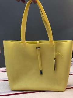 Vince Camuto silicone tote bag