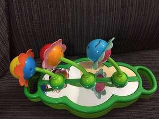Baby activity toy - rattle, mirror, zigzag #WinSubangJaya #SUBANGJAYASWAP