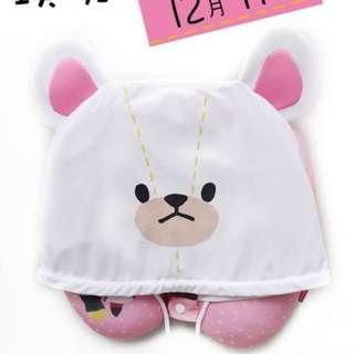 the bears' school 可愛 U 型頸枕 Ezone 7-11