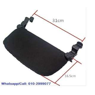 Leg support stroller compact