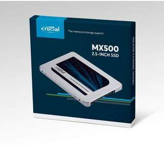 Crucial CT500MX500SSD1 500GB 2.5-inch Internal Solid State Drive