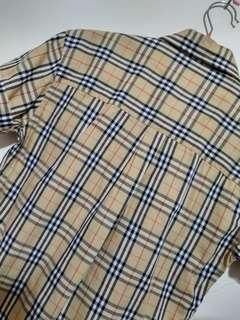 經典BURBERRY格紋襯衫