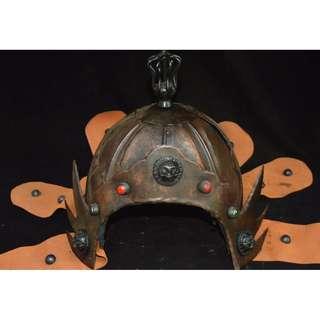 郷下收集  南宋時期  銅製  霊獣紋  将軍頭盔  護額  帽子 盔甲  護具