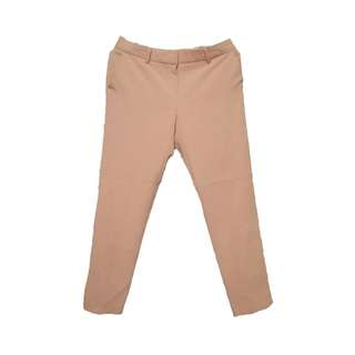 Pastel Pink Cropped Trousers