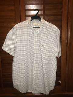 Vintage polo shirt sleeve button down
