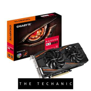 GIGABYTE RADEON RX 580 GAMING 8G GRAPHICS CARD
