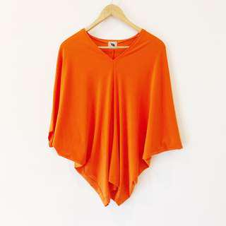 Alegre by Techie Hagedorn Orange Top