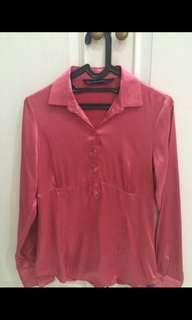 Zara original pink satin