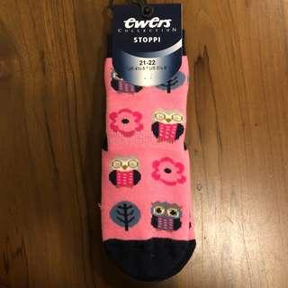 (包郵) Ewers 嬰兒防滑襪13cm