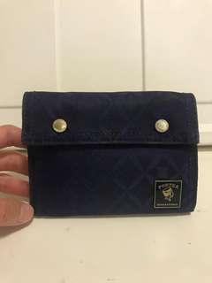 Porter International Blue wallet