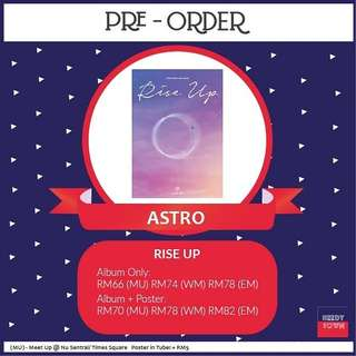 (PRE-ORDER) ASTRO - RISE UP