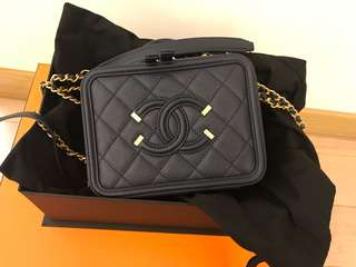 Chanel Vanity Case small size Full set with original receipt