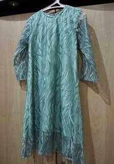 Light tosca dress