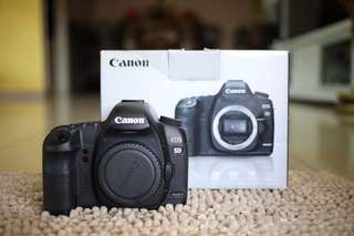 Canon 5D Mark II body with box