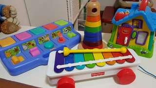 Baby toddler toys Fisher Price Leapfrog Playskool