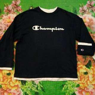 Champion Spellout L/S