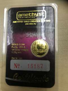Dinar Power gold
