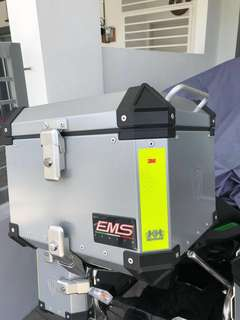 EMS Motorcycle Side & Top Box
