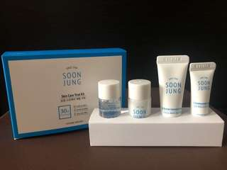 RUSH SELLING!!! Etude House Soon Jung  Skin Care Trial Kit