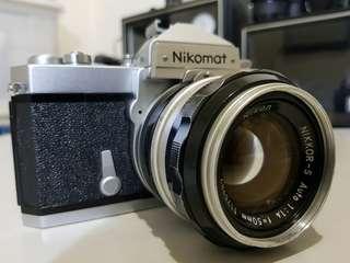 Nikomat+ F1.4