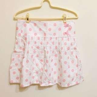 🚚 粉紅點點百褶裙 #女裝半價拉