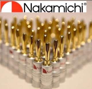 20pcs - Nakamichi Banana Plug