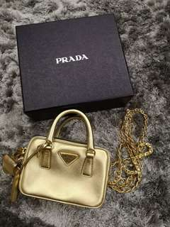 Prada mini sling bag
