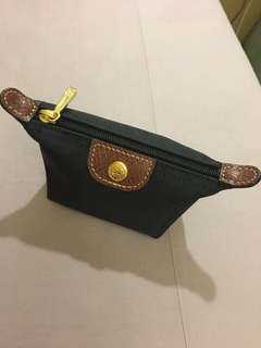 🚚 Longchamp 黑色零錢包