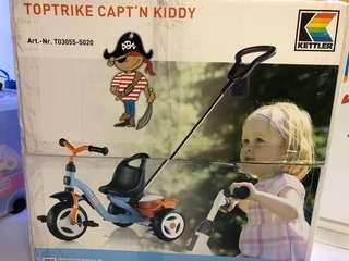 BNIB Toptrike Capt'n Kiddy - Kettler