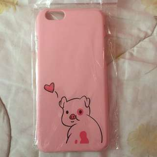 🌸BRANDNEW🌸 Iphone 6 Iphone 6s Cute Pink Pig Hard Case