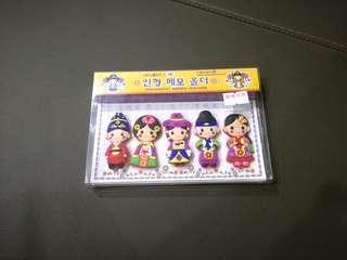 (New) Korea Magnetic Memo Holder Box Set