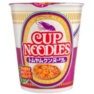 日清 泰式冬蔭公蝦杯麵