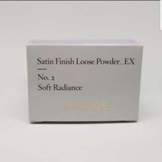 Laneige Satin Finish Loose Powder Ex No.2