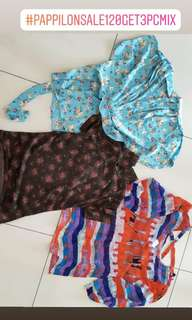 Sale 3pc 120rb NEW