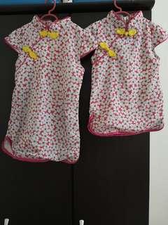 2 Sisters Cheongsam for rm 35