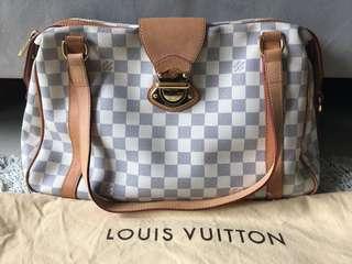 LV Handbag - Stresa, White Damier