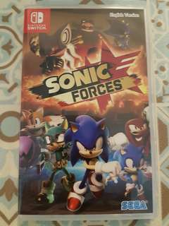 🚚 Sonic Forces for Nintendo Switch